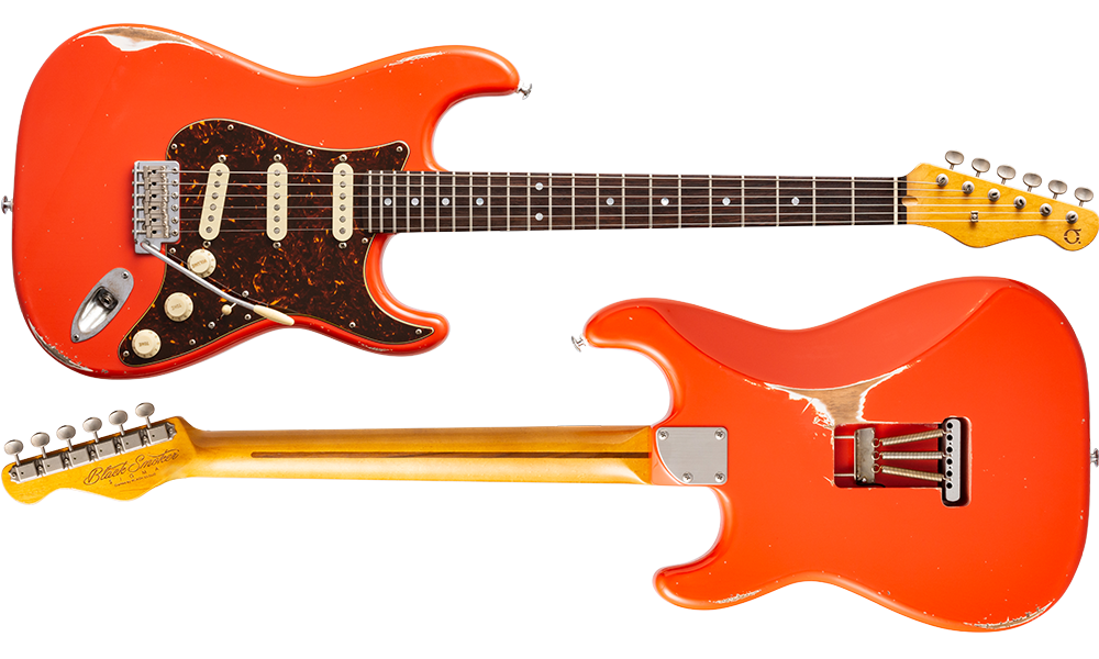 TRAD MASTER SERIES Sigma SSS Fiesta Red Heavy Aged