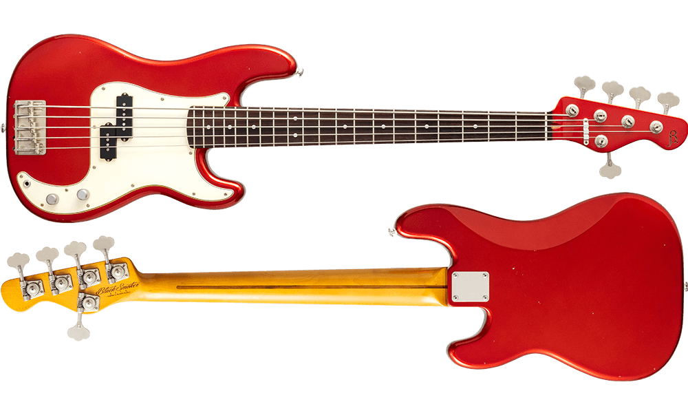 BETA-P5C Candy Apple Red Light Aged