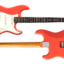 SIGMA-SSS Fiesta Red curly Maple on Macassar Ebony Neck Medium Aged