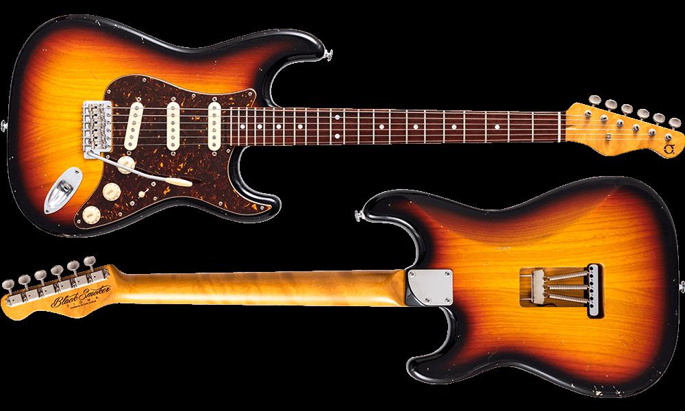 SIGMA SSS 3 Tone Sunburst Culry Maple on Cocobolo Neck Medium Aged