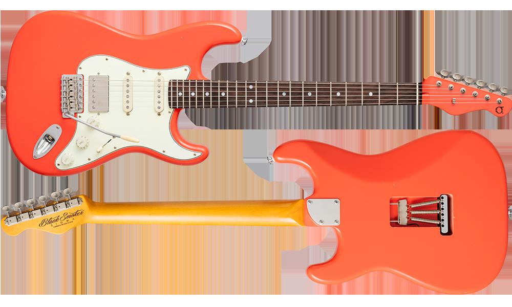 SIGMA-SSH Fiesta Red Matching Head Light Aged