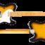 DELTA-C 2-Tone Sunburst Light Aged