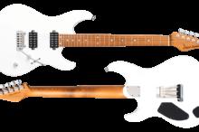 FUTURA-S HH Matte Pearl White / Alder Body Roasted Maple Fingerboard