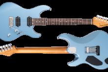 FUTURA-S HH Ice Blue Metallic / Alder Body Rosewood Fingerboard