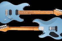 FUTURA-S HH Ice Blue Metallic / Alder Body Roasted Maple Fingerboard