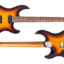 FUTURA-S HH 3 Tone Sunburst / Alder Body Rosewood Fingerboard