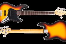 BETA-J5 3 Tone Sunburst w/Binding Light Aged