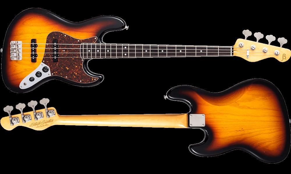 BETA-J4A 3 Tone Sunburst Light Aged