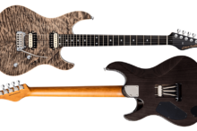 FUTURA-S HH Black Sand Ash Back AAAA Quilted Maple Top Body